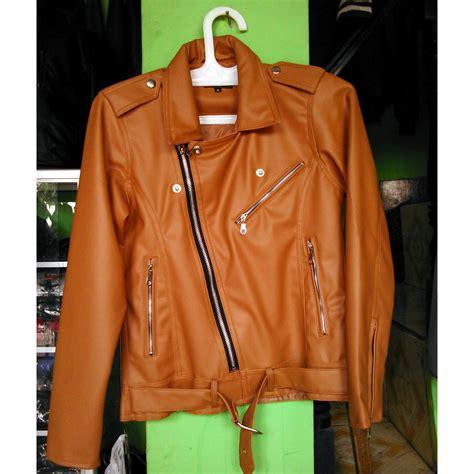 jaket kulit wanita model raisa  pilihan warna elevenia