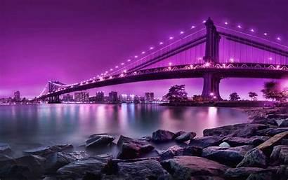 Purple Bridge Classy 2560 1600 Manhattan York