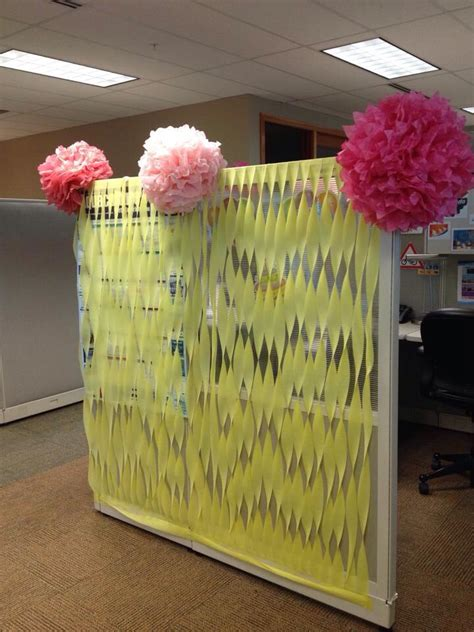 Work Cubicle Birthday Decorations by 25 Unique Cubicle Birthday Decorations Ideas On