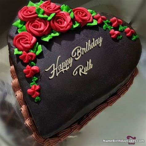 happy birthday ruth cakes cards wishes