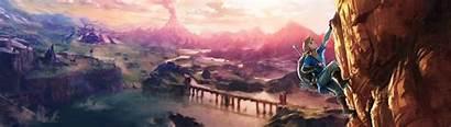 Zelda Breath Wild Dual Wallpapers Screen 1080