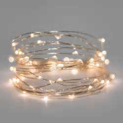 battery operated lights 30 warm white battery operated led lights silver wire