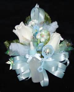 Baby Shower Ribbon Corsage