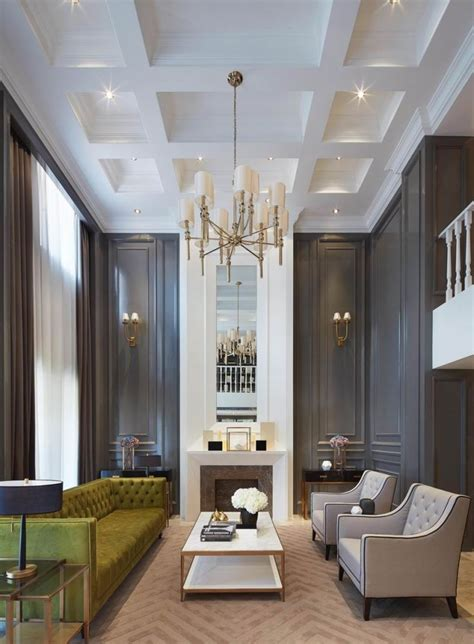 44 Living Room With High Ceiling Designs, High Ceiling