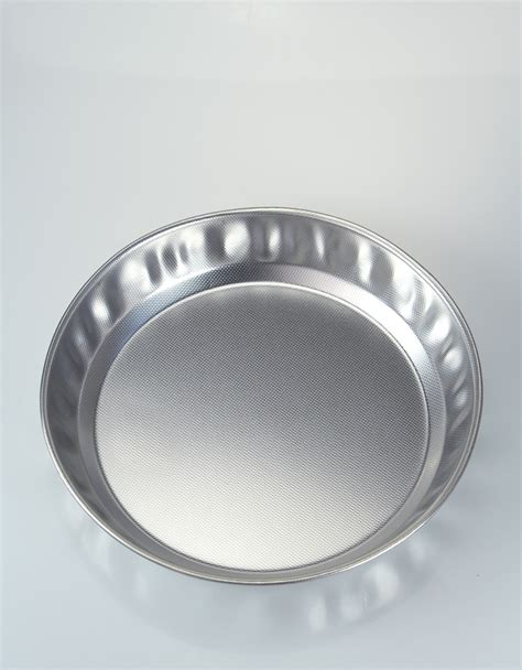 Stainless Steel Shallow Cake Pan  The Essential Ingredient
