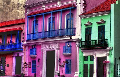 cuisine pour les petits les maisons colorées de cuba