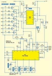 Fig  2  Circuito Do Mixer De  U00e1udio Com Controle De Graves