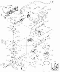 Porter Cable J-444 Parts List And Diagram