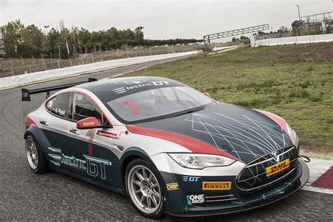 Tesla Racing Series by Tesla P100 Hits Electric Gt Series Hispotion
