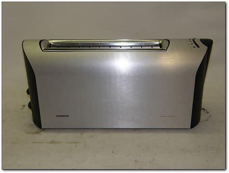 Porsche Toaster by Siemens Porsche Design Toaster Langschlitztoaster Tt91100