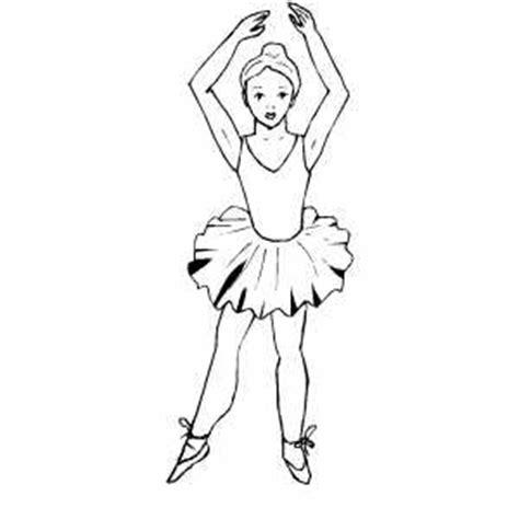 ballet dancer coloring