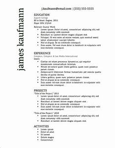 12 resume templates for microsoft word free download With top rated free resume templates