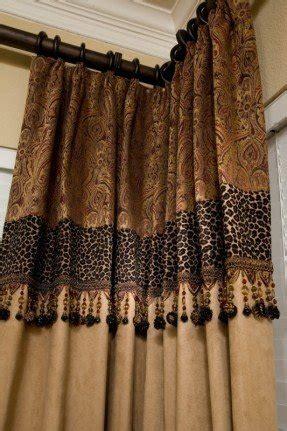 cheetah shower curtain leopard print window curtains foter
