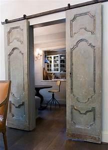 interior door dilemma tidbitstwine With barn doors for dining room