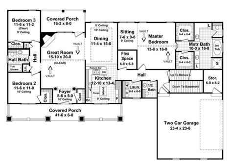 basement home plans carriage house plans house plans with basement