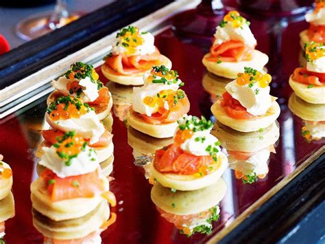 easy canape recipes nigella 25 best ideas about smoked salmon blinis on
