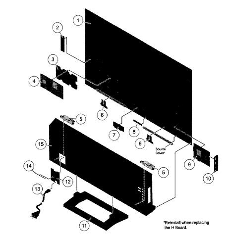 Diagram Of Sony by Sony Bravia Parts Accessories Best Accessories Collection