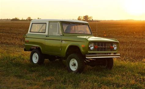 You Can Buy A Brand-new Old Ford Bronco, But It Won't Come