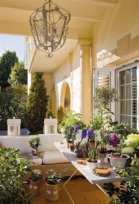 lovely mediterranean outdoor spaces designs