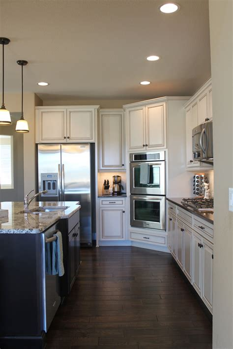 Off White Kitchen Cabinets With Glaze  Home Design And