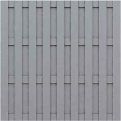 zaunelemente holz grau sichtschutz jumbo wpc grau 179x179cm zaun mesem de