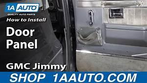 How To Remove Door Panel 73-87 Chevy Gmc