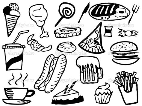 food coloring pages    print