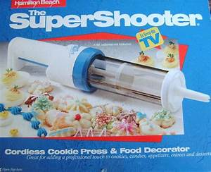 Super Shooter Cookie Press And Food Decorator Review