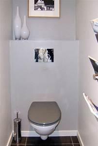 Deco Pour Wc : toilette suspendu design maison design ~ Teatrodelosmanantiales.com Idées de Décoration