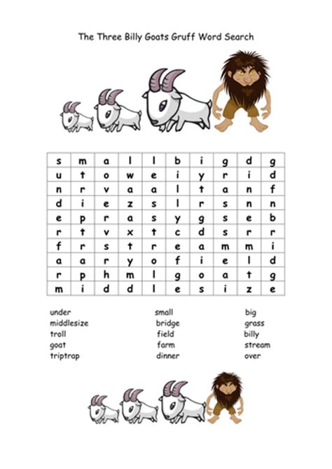 the three billy goats gruff teaching resources by 862   image?width=500&height=500&version=1395735830000