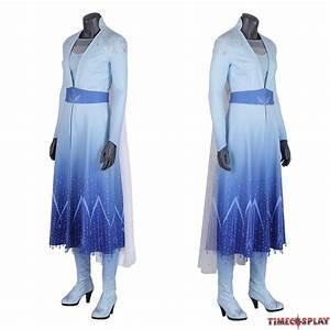 Ralph Size Chart Frozen 2 Elsa Cosplay Costume Fancy Dress Deluxe Version