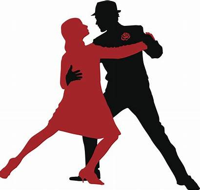 Tango Dance Salsa Dancers Silhouette Santa Entertainment