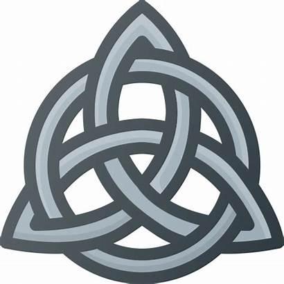 Celtic Knot Triquetra Transparent Icon Trinity Svg