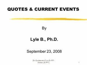 Current Event Quotes. QuotesGram