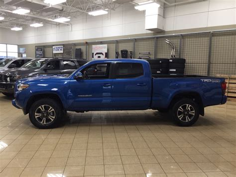 Toyota Tacoma Upgrades by New 2018 Toyota Tacoma Trd Sport Upgrade 4 Door In