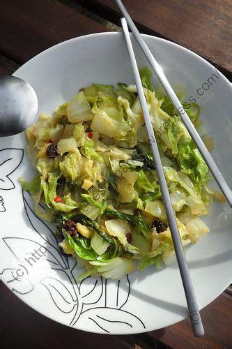 cuisiner du chou chinois poêlée de chou chinois à l asiatique