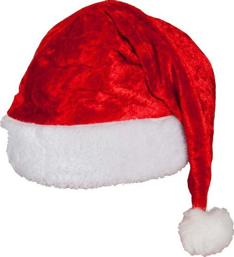 adult unisex velvet santa hat good quality christmas hats