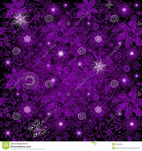 seamless dark violet pattern stock vector image