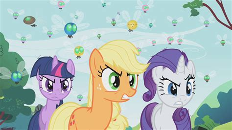Image Rarity Applejack And Twilight Angry Look S01e10