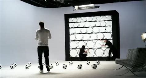 soccer ball drumming ads david beckham plays beethoven