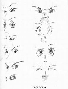 anime faces by SarahSoulAlban on DeviantArt