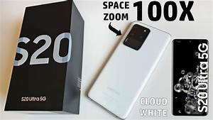 My New Samsung Galaxy S20 Ultra 5g Cloud White  108 Mpx