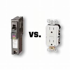Gfci Breaker Vs  Receptacle
