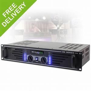 Ekho Rx600 Two Channel Power Amplifier Dj Pa Sound System