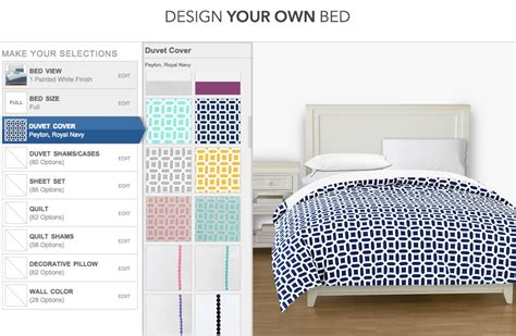 pbteen design your own bed design your own bed with pbteen