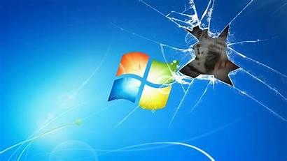 Windows Animated Desktop Wallpapers Broken Tiger Screen