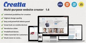 Creatta Multipurpose PHP Website Builder Script Null