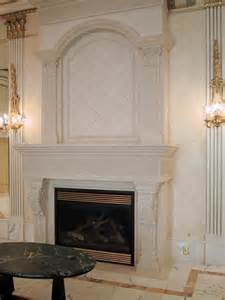 Mantel Over Stone Fireplace Designs