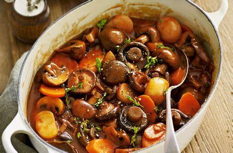mushroom bourguignon tesco real food