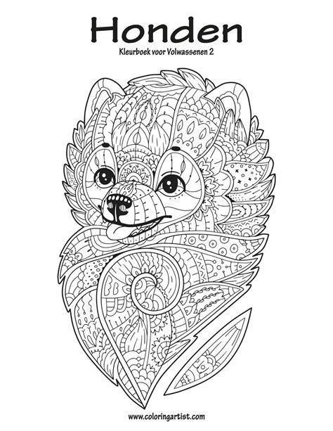 Honden Kleurplaat Volwassenen by Kleurplaat Volwassenen Hond Kleurplaten Tekeningen